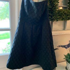 Black White House Black market formal dress!
